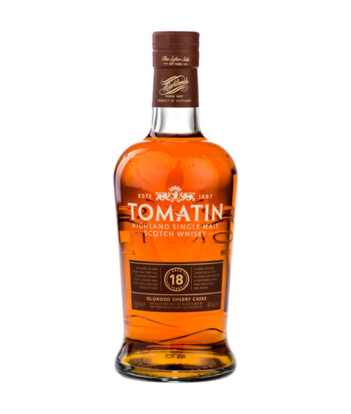 Buy Tomatin 18 Year Old Single Malt Scotch Whisky - 46% - 700ml Online at Wholly Spirits Malaysia