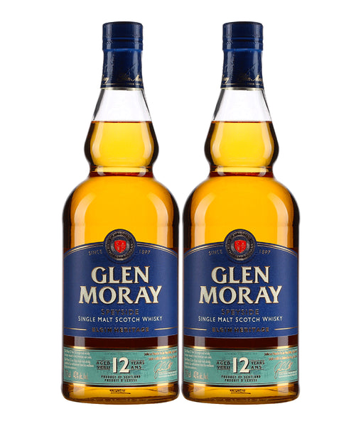 Glen Moray 12 Year Old - Twin Pack