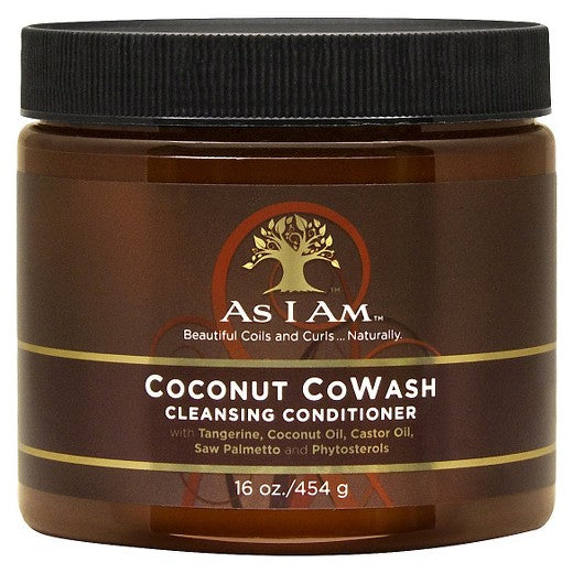 AS I AM COCONUT COWASH CLEANSING CONDITIONER (454G / 16 OZ.)