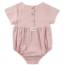 Load image into Gallery viewer, Linen Romper - Rose
