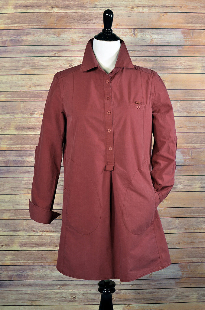Cambric Shirt Dress