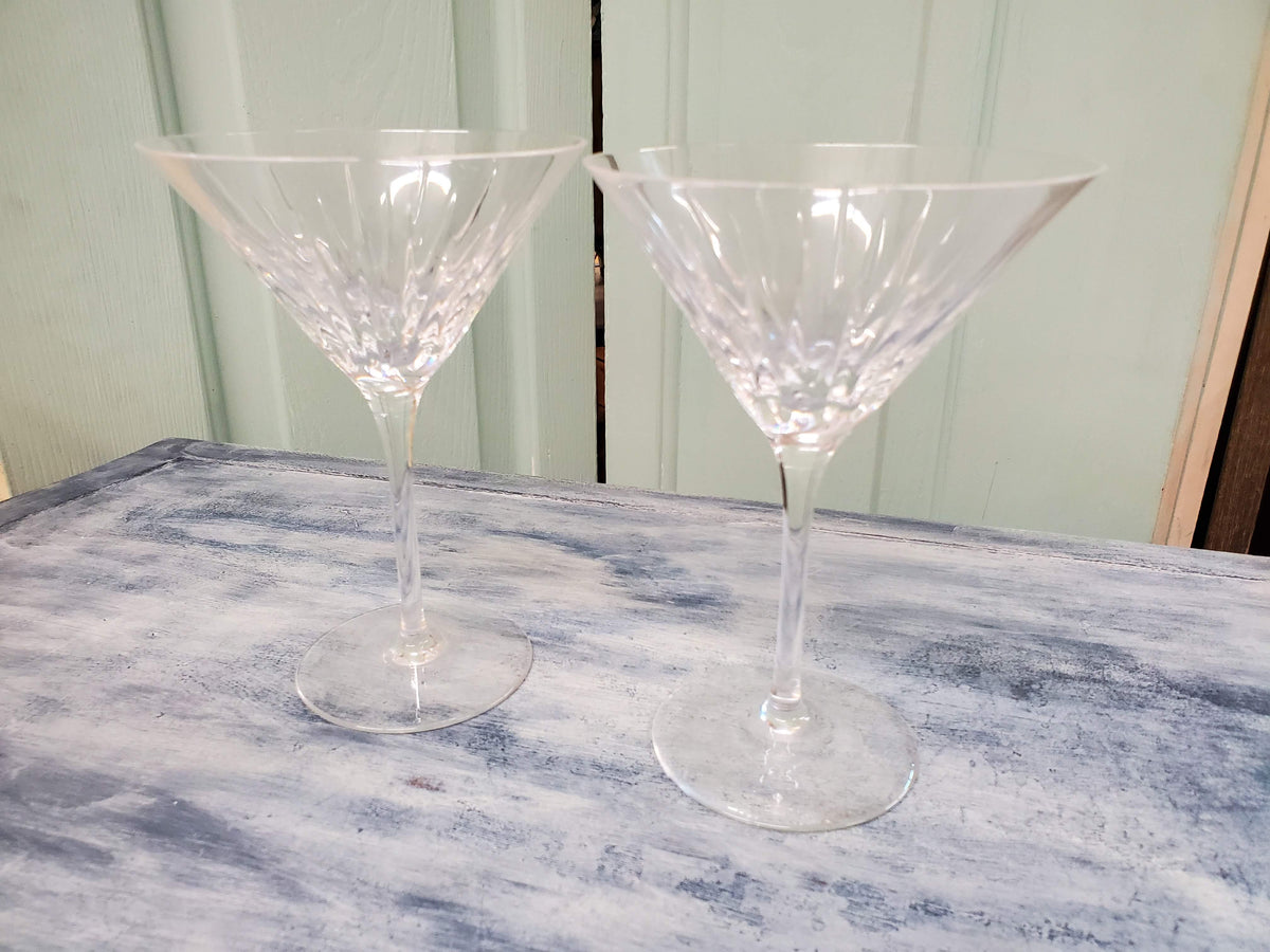 Crystal Martini Glass