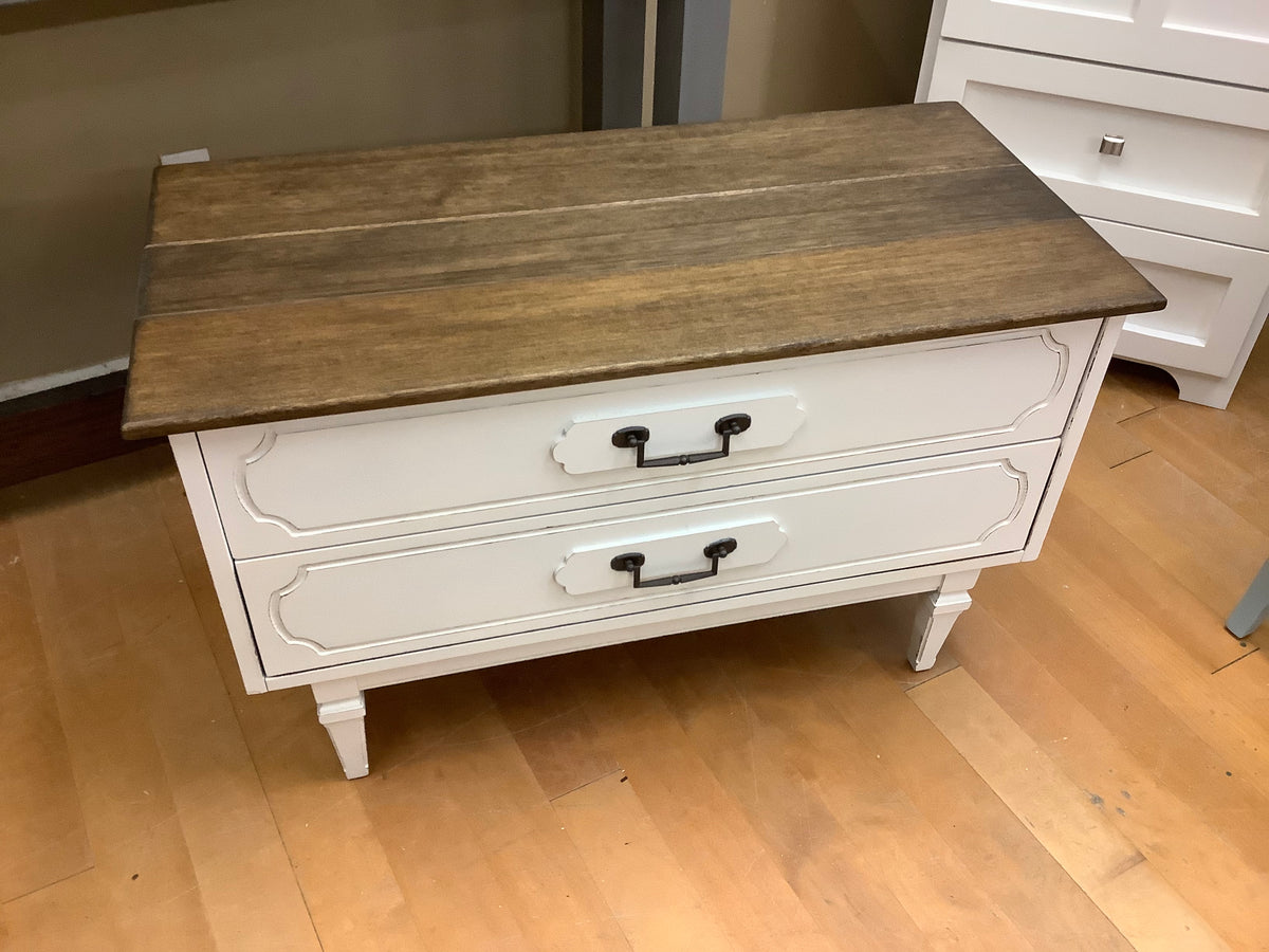 Two drawer storage chest