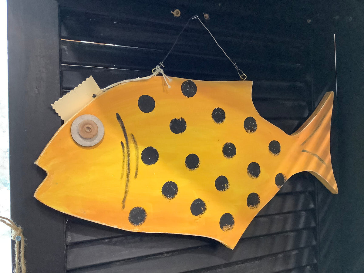 Yellow wood fish