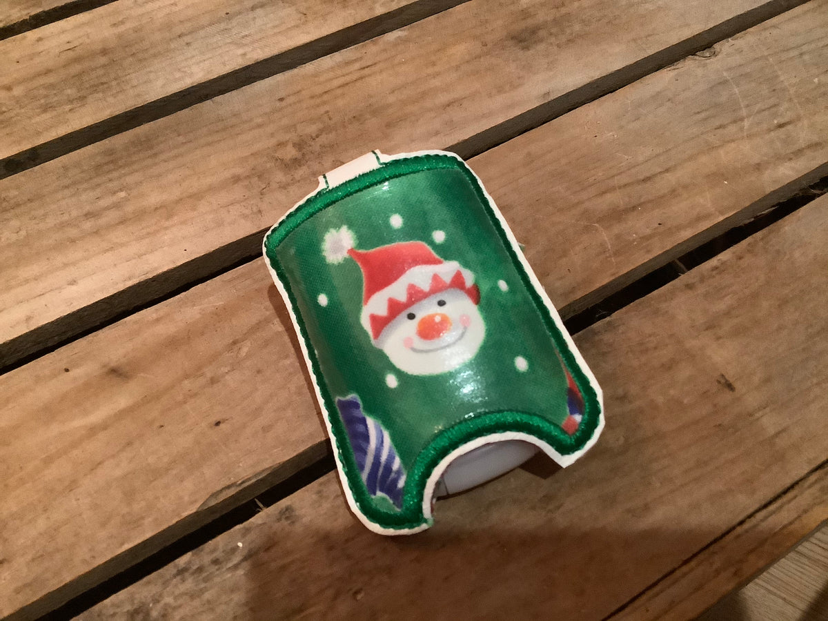 Christmas hand sanitizer case