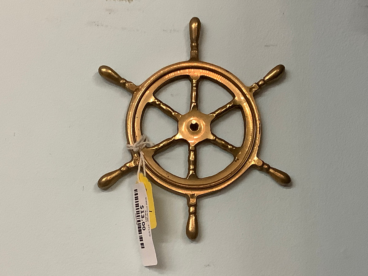 Brass ship wheel - 071/072