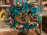 Coastal Carolina wreath