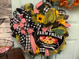 Farm fresh wreath