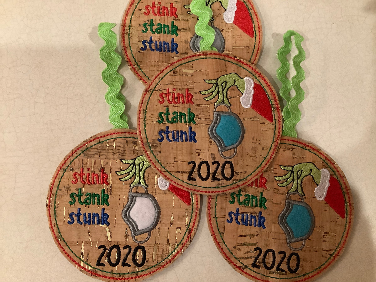 Grinch 2020 ornament