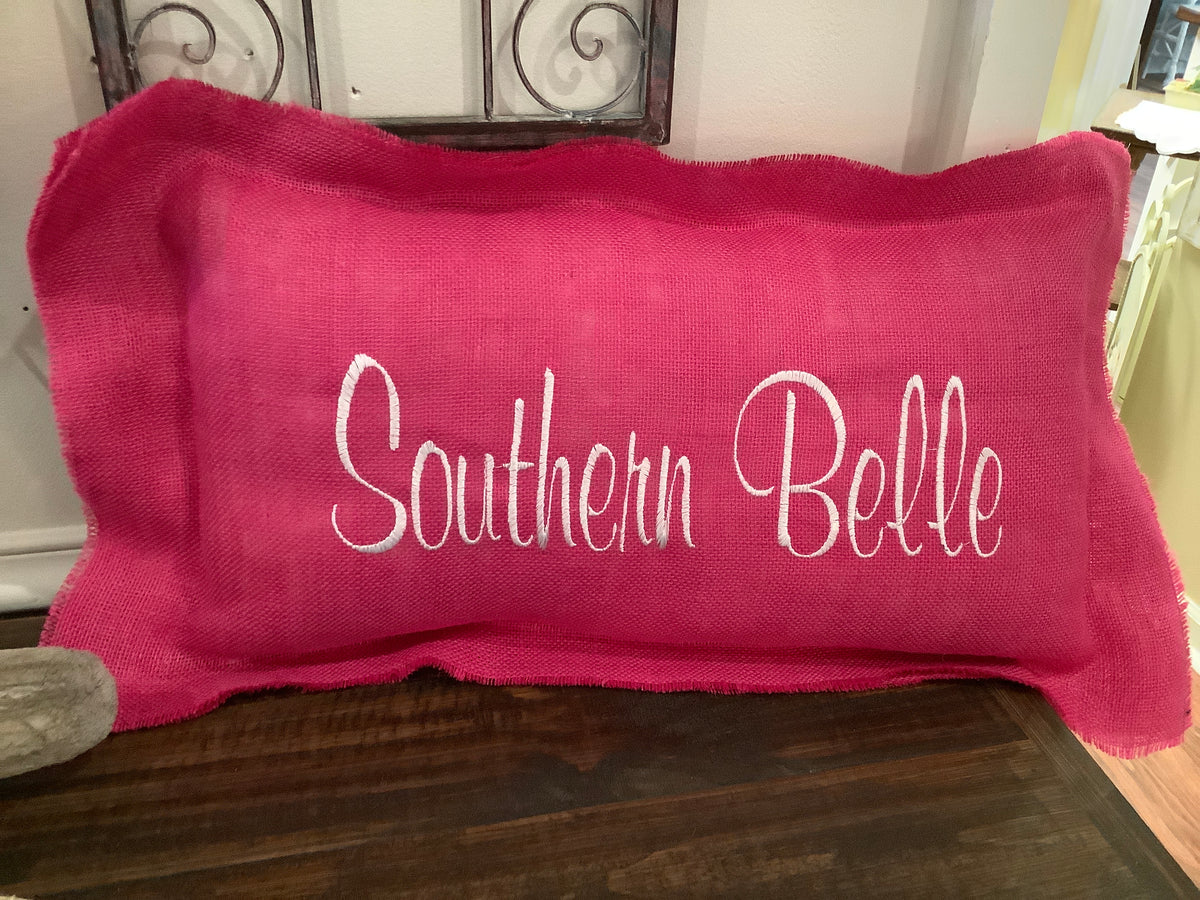 Pink oblong southern belle
