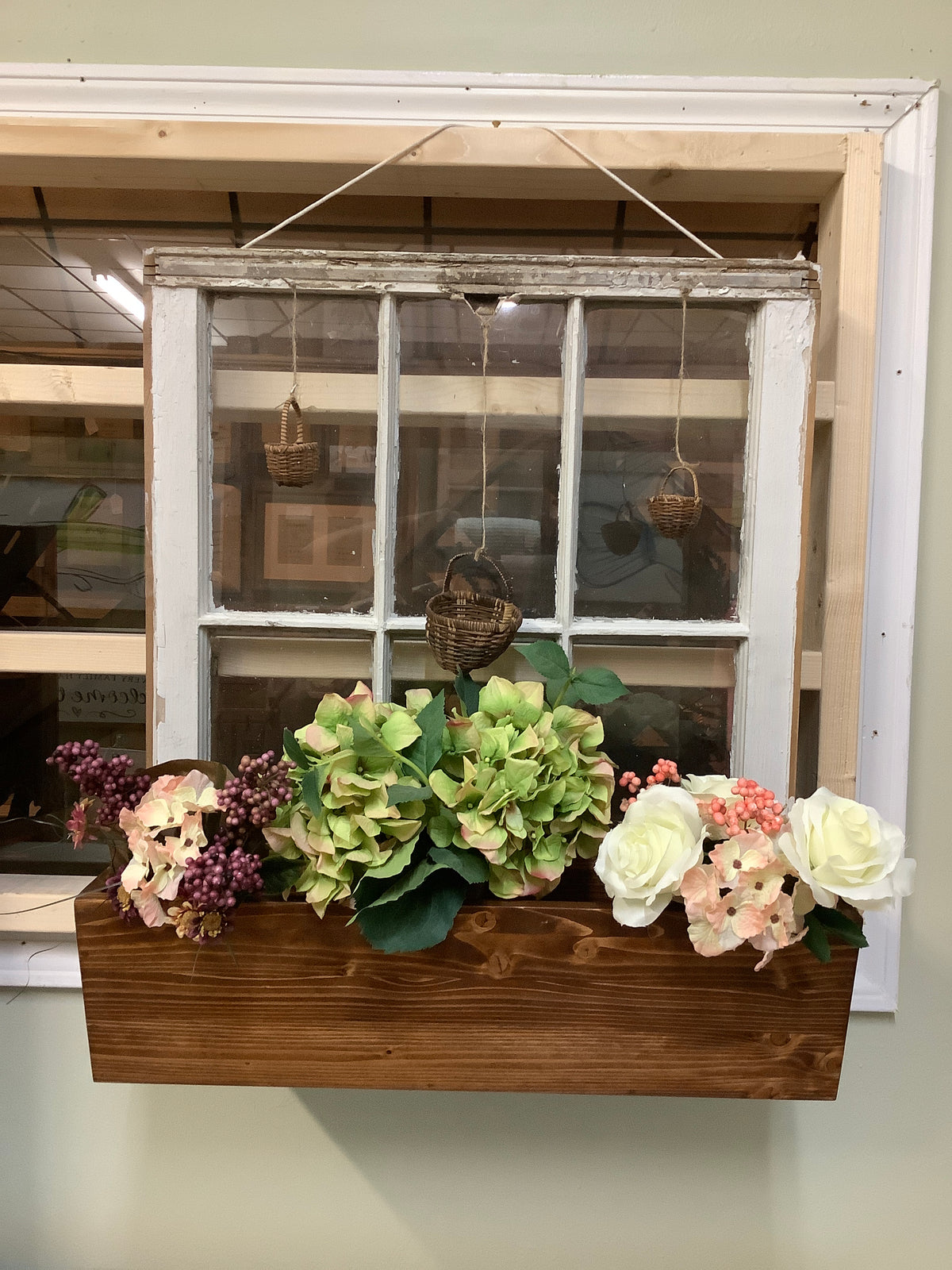 Window with planter