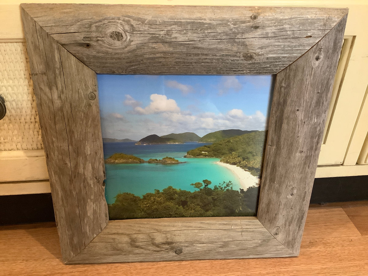 Framed picture of St.Johns beach