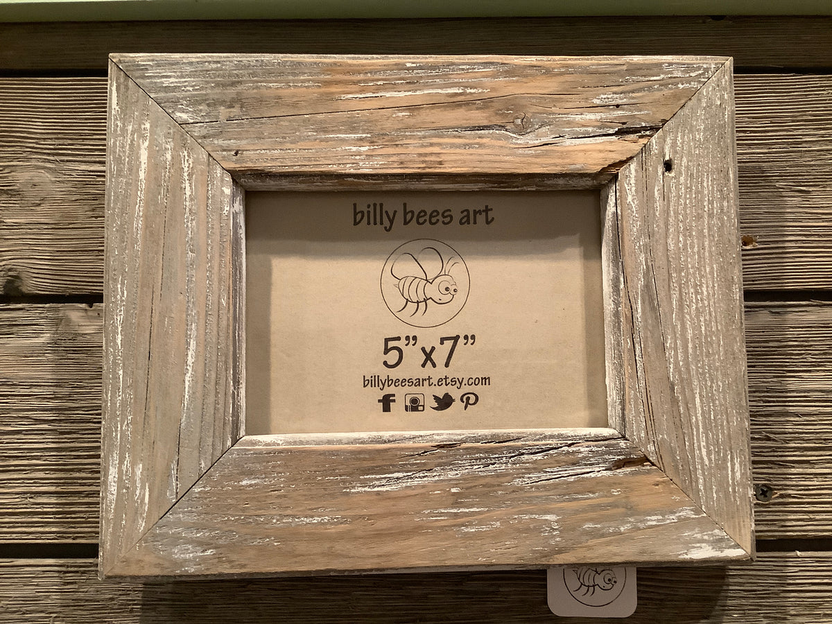 Barn wood 5x7 photo frame
