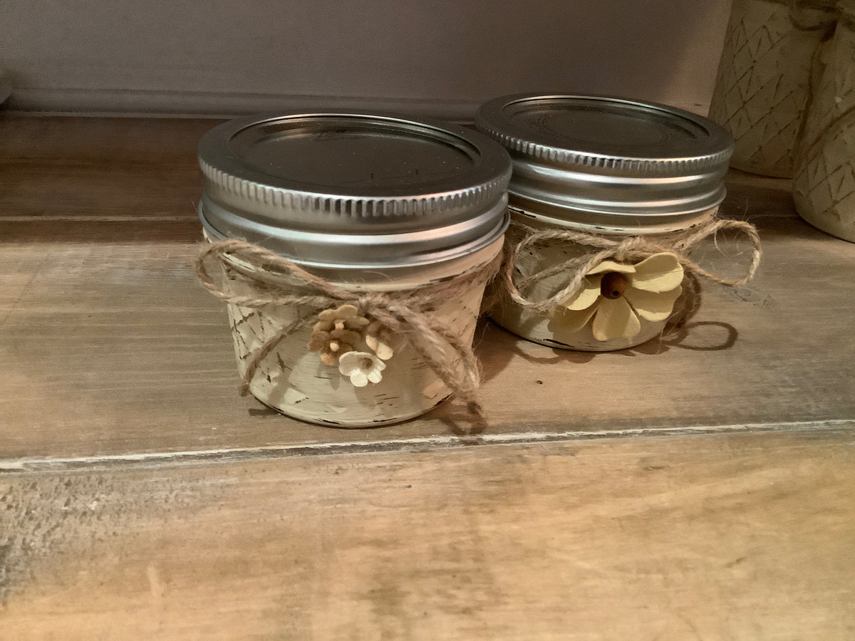 All natural soy based citronella candle