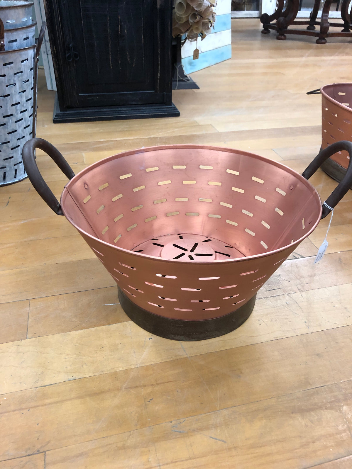 Copper Oyster bucket