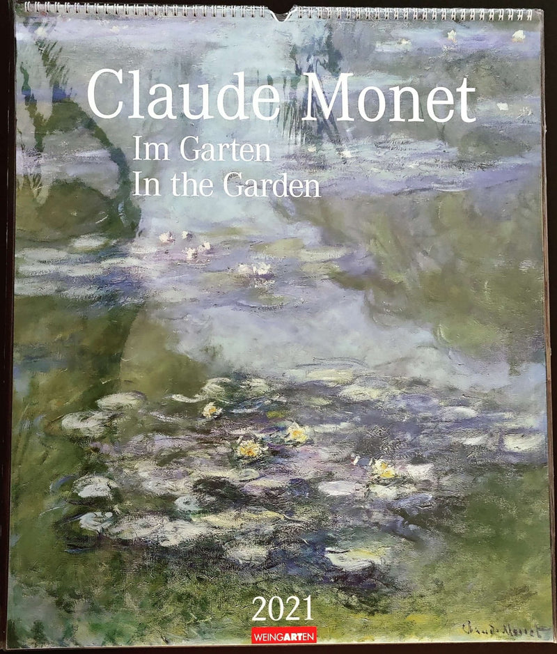 Claude Monet, in the garden, jaarkalender 2021 - Catch Utrecht