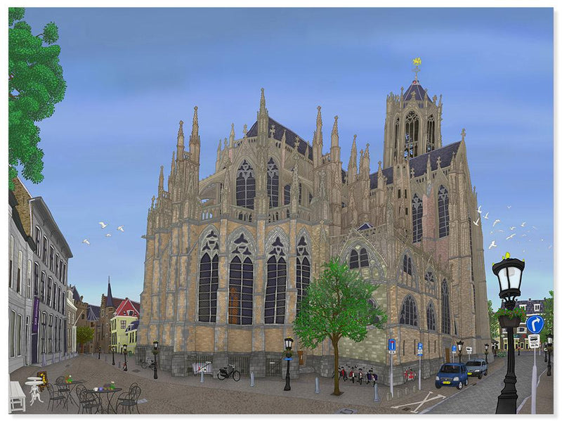 Domkerk, Utrecht (5 versies) - Catch Utrecht