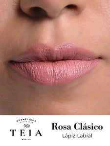 Rosa Clásico - Labial Natural