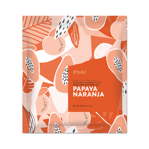 Facial Mask de Papaya Naranja