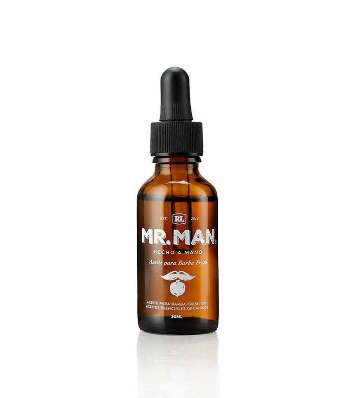 Aceite para Barba Fresh de Mr. Man