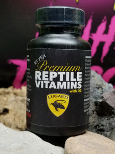 Lugarti Ultra Premium Reptile Vitamins with D3