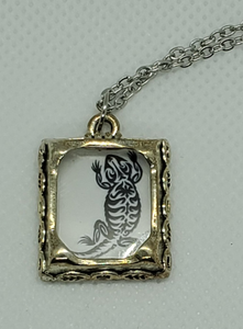 Silver Photo Necklace - Kuhl Dragons
