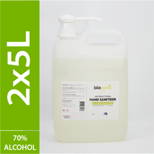 Load image into Gallery viewer, 2 x 5L Biogenic Hand Sanitiser ($11 per litre)