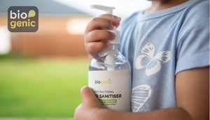60 x 250mL Biogenic Hand Sanitiser ($6 each) (15% extra sanitiser)