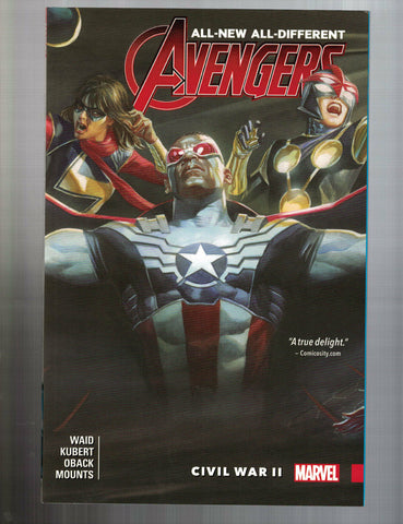 ALL NEW ALL DIFFERENT AVENGERS VOL 3 CIVIL WAR II SC -- MARVEL, 2017 -- NEW!