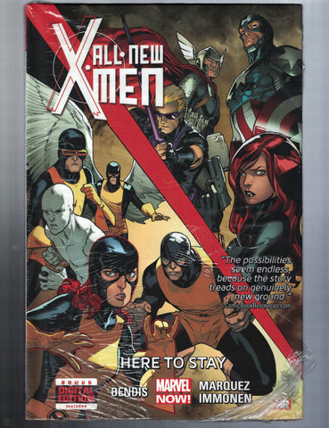 ALL NEW X-MEN VOL 2 HERE TO STAY HC - Marvel (2015) - (w)Bendis (a)Marquez  NEW!