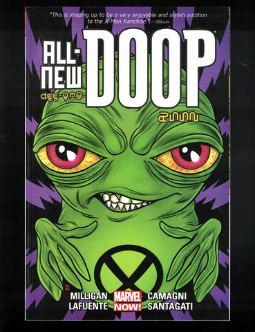 All-New Doop TP Marvel Comics (2014) 1st Print Milligan (W) Lafuente (A) NEW!