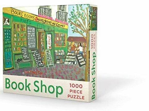 Book Shop 1000pc Jigsaw Puzzle