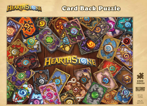 Hearthstone: Card Back 1000pc Jigsaw Puzzle