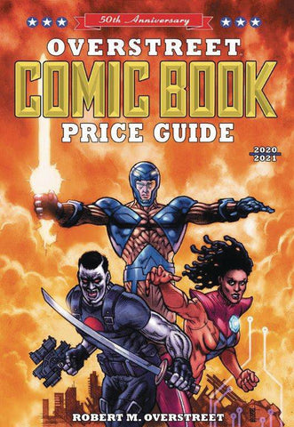Overstreet Comic Book Price Guide 50th Anniversary Edition