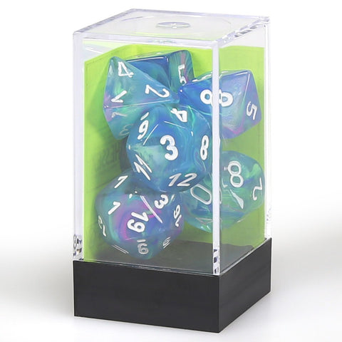 7-set Dice Cube Festive Waterlily