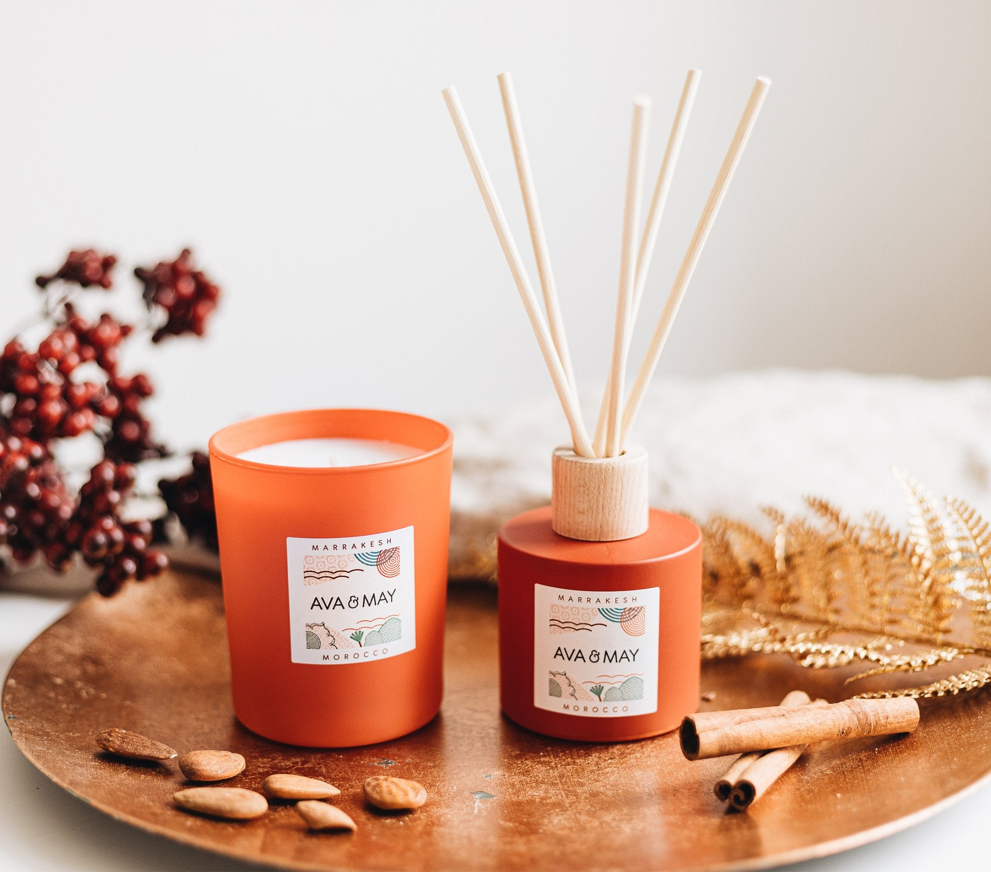 Marrakesh Home Fragrance Set