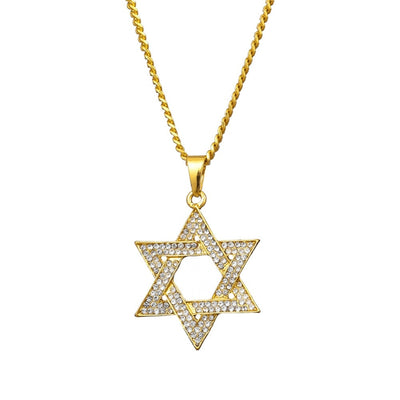 18K Gold Plated Star of David Necklace | Jewish Faith Jewellery