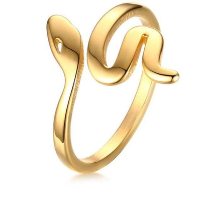 gold snake ring uk