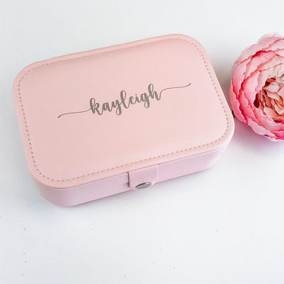personalized jewelry box gift for bridesmaids