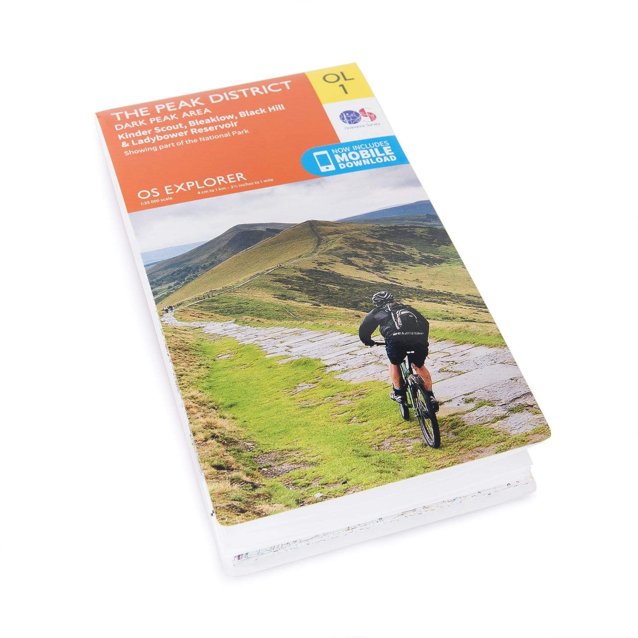 OS Explorer Maps: Peak District - Dark Peak