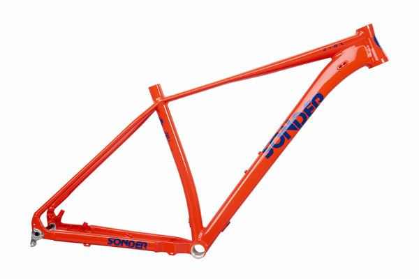 sonder dial xc mountain bike frame in