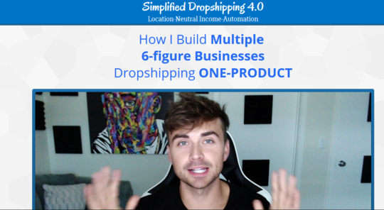 Scott Hilse - Simplified Dropshipping 4.0
