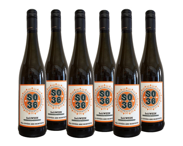 "6 FL SO36 SoliWEIN ""All Cuvées Are Beautiful"" 2019"