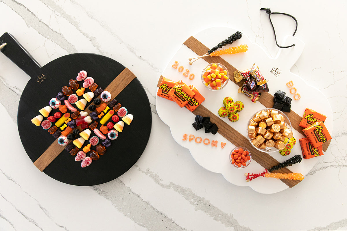 At Home with etuHOME: Halloween Candy Charcuterie