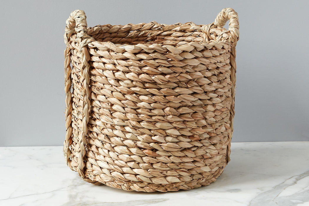 etúHOME Rush Barrel Basket, Medium, 2 Handles 1