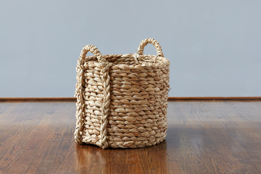etúHOME Rush Barrel Basket, Medium, 2 Handles 2