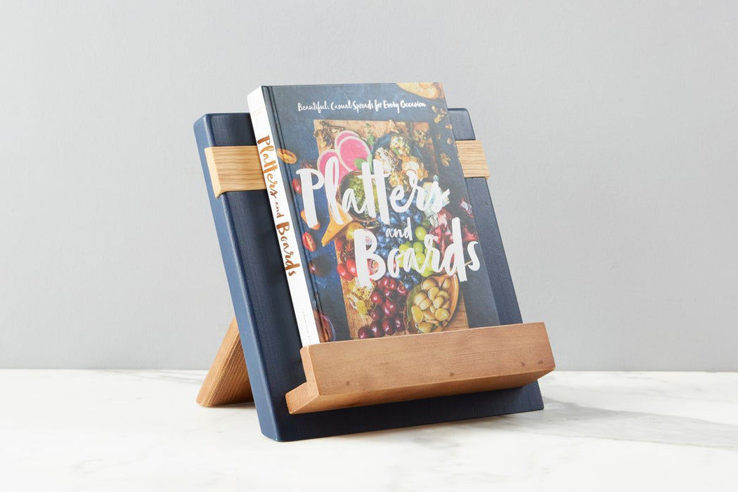 etúHOME Navy Mod iPad / Cookbook Holder - Featured in Oprah Magazine - 1