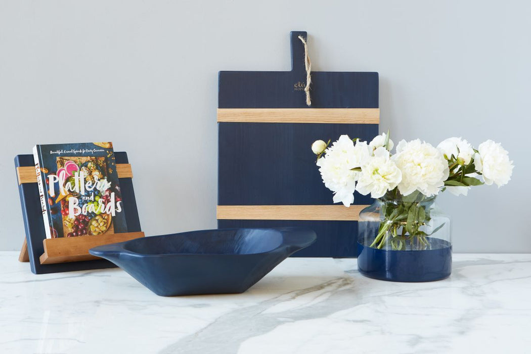 etúHOME Navy Mod iPad / Cookbook Holder - Featured in Oprah Magazine - 3