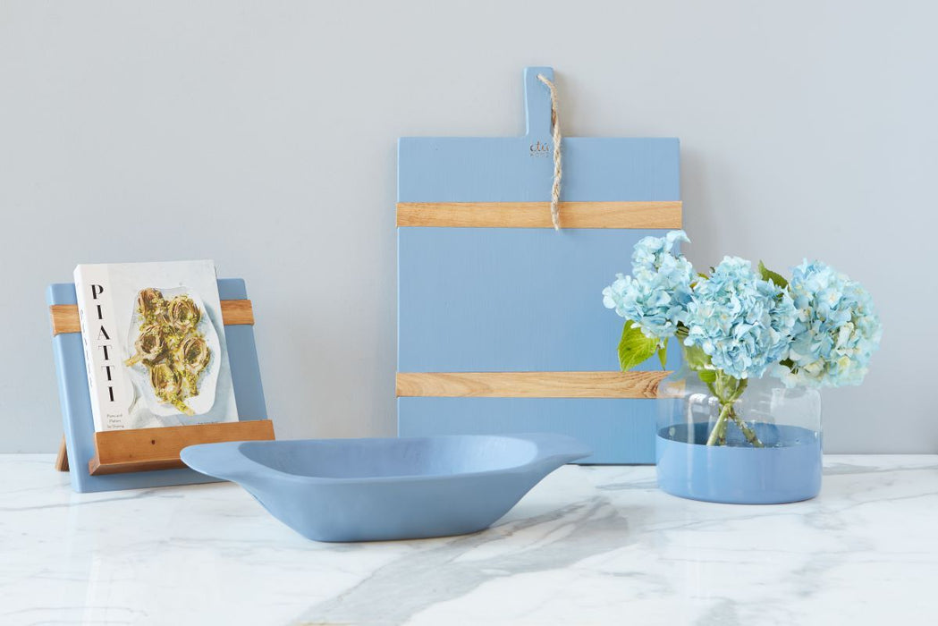 etúHOME Denim Mod iPad / Cookbook Holder - Featured in Oprah Magazine - 4