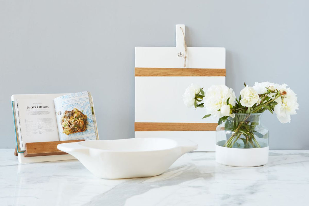 etúHOME White Mod iPad / Cookbook Holder - Featured in Oprah Magazine - 5